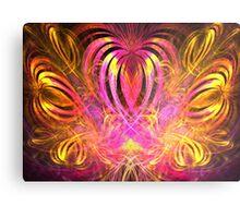 Sun Hearts Metal Print
