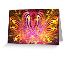 Sun Hearts Greeting Card