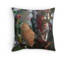 Christmas toys 50 years ago Throw Pillow