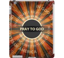 Pray To God iPad Case/Skin