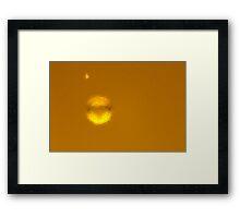 Beer Bubbles Framed Print