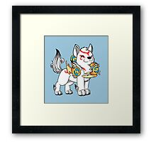 Lil' Ammy with Beads Framed Print