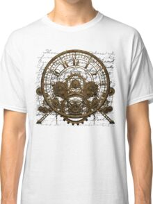 Vintage Steampunk Time Machine #1A Classic T-Shirt