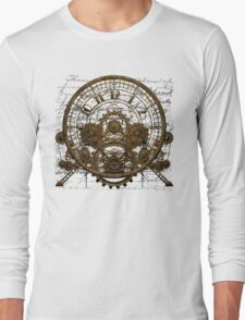 Vintage Time Machine #1A Long Sleeve T-Shirt