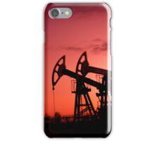 Oil pumps. iPhone Case/Skin