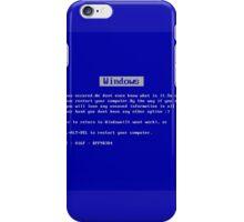 BSOD iPhone Case/Skin