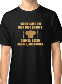 Four Food Groups Classic T-Shirt