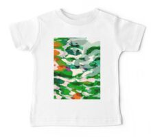 Abstract Army Pattern Baby Tee