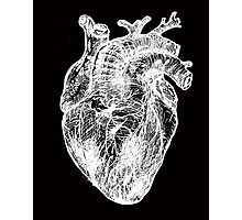 My White Heart Photographic Print
