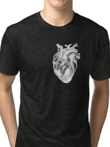 My White Heart Tri-blend T-Shirt