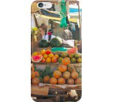 Fruits, Vegetables & Animals Bazar in Nairobi, KENYA iPhone Case/Skin