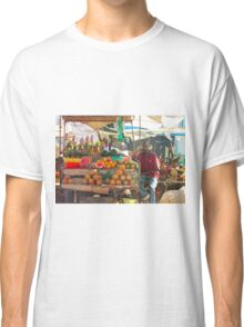 Fruits, Vegetables & Animals Bazar in Nairobi, KENYA Classic T-Shirt