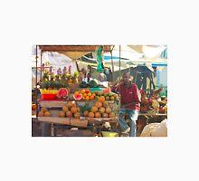 Fruits, Vegetables & Animals Bazar in Nairobi, KENYA Unisex T-Shirt