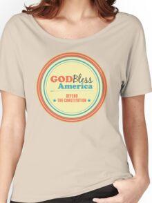 God Bless America Women's Relaxed Fit T-Shirt