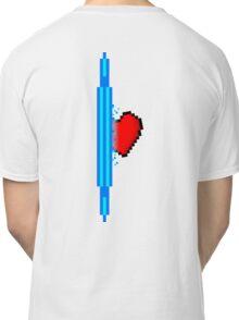Heart through blue portal (version 2) Classic T-Shirt