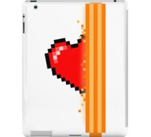 Heart through orange portal (version 2) iPad Case/Skin