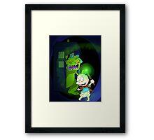Doctor Pickles Framed Print