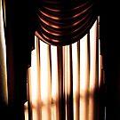 Behind the curtain by Kornrawiee