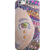 She's Tears Without Fear iPhone Case/Skin