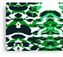 Abstract Army Pattern in Canvas Print