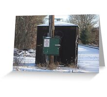 Power Box in Stoughton Greeting Card