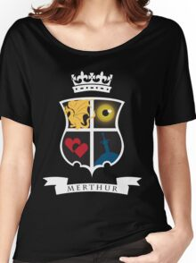 Merthur Coat of Arms Women's Relaxed Fit T-Shirt