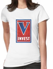 Invest In Victory -- WWII Womens Fitted T-Shirt