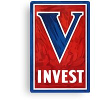 Invest In Victory -- WWII Canvas Print