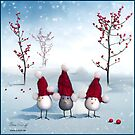 Frohe Weihnachten!!! Merry Christmas!!! by Oxana Zuboff