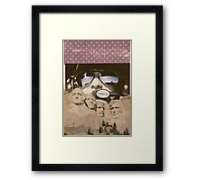 God, guns and glory Framed Print