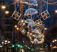 Oxford Street Christmas Lights by TheWalkerTouch