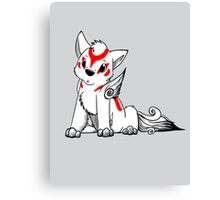 Lil' Amaterasu Canvas Print