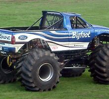Bigfoot monster truck by amylw1