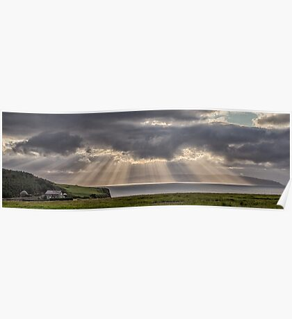 Donegal Sunburst Poster