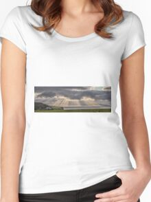 Donegal Sunburst Women's Fitted Scoop T-Shirt