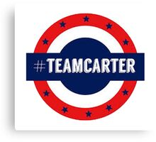 #TeamCarter Canvas Print