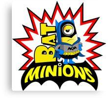 Minions super hero Canvas Print