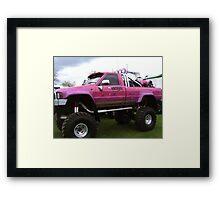 reservoir dogs monster truck Framed Print