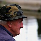Fishing the Delph Locks by © Loree McComb