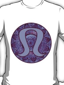 Purple Mandala Lulu Logo T-Shirt