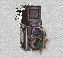 Photography Vintage Retro Rolleiflex by Denis Marsili - DDTK