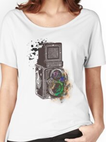 Photography Vintage Retro Rolleiflex Women's Relaxed Fit T-Shirt