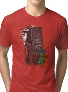 Photography Vintage Retro Rolleiflex Tri-blend T-Shirt
