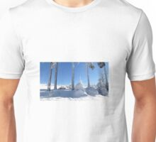 Winter scene Unisex T-Shirt
