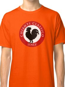 Black Rooster Italy Chianti Classico  Classic T-Shirt