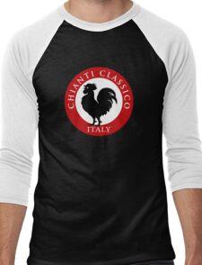 Black Rooster Italy Chianti Classico  Men's Baseball ¾ T-Shirt