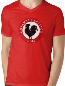Black Rooster Italy Chianti Classico  Mens V-Neck T-Shirt