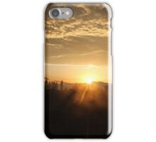 The one with the sun iPhone Case/Skin