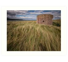 Martello Tower Art Print