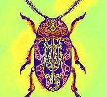 Beetle in Green by WoundedHearts